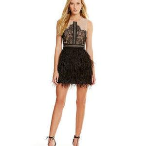 NWT! Gianni Bini Feather Dress <3